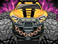 Monster Wheels Game